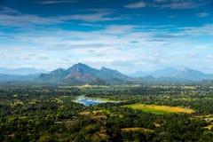 Paesaggio dello Sri Lanka Fotografie Stock