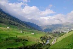Paesaggio dello svizzero della campagna Immagine Stock