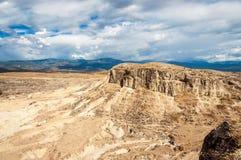 Deserto asciutto desolato fotografie stock libere da diritti