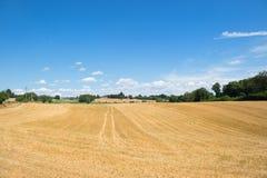 Paesaggio di agricoltura in Francia Fotografia Stock Libera da Diritti
