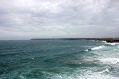 Paesaggio di Algarve (São Vicente Cape) Immagini Stock