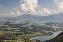 Paesaggio di Allgaeu Fotografia Stock