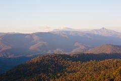 Paesaggio di alta montagna Fotografia Stock