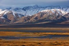 Paesaggio di Altai del mongolian Fotografia Stock Libera da Diritti