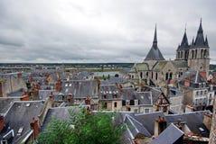 Paesaggio di Amboise Immagini Stock