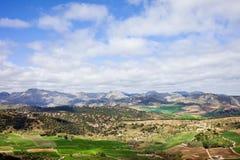 Paesaggio di Andalusia in Spagna Fotografia Stock Libera da Diritti