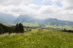 Paesaggio di Appenzell Immagini Stock Libere da Diritti