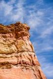 Paesaggio di area di riposo dello stato dell'Arizona fuori da 40 da uno stato all'altro Immagini Stock Libere da Diritti