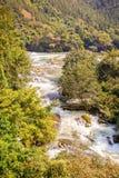 Paesaggio di area di Tianxingqiao delle cascate di Huangguoshu Fotografia Stock Libera da Diritti