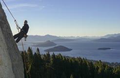 Paesaggio di arrampicata fotografia stock