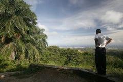 PAESAGGIO DI ASUNCION DELLA LA DEL SUDAMERICA VENEZUELA ISLA MARGATITA Fotografie Stock Libere da Diritti