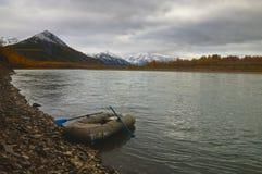 Paesaggio di autunno. Immagine Stock
