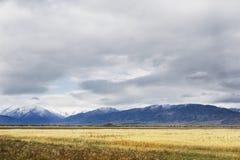 Paesaggio di autunno di Altai della montagna La Russia Immagine Stock Libera da Diritti