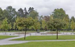 Paesaggio di autunno del parco di Transferrina Tivoli Immagine Stock Libera da Diritti