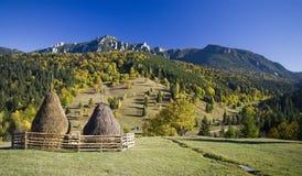 Paesaggio di autunno della montagna Immagini Stock Libere da Diritti