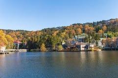 Paesaggio di autunno di Lushan fotografia stock