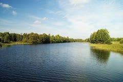 Paesaggio di autunno in terreno rurale Fotografia Stock Libera da Diritti