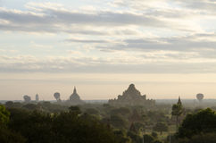 Paesaggio di Bagan Immagini Stock