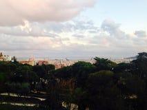 Paesaggio di Barcellona Immagine Stock Libera da Diritti