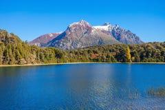 Paesaggio di Bariloche in Argentina Fotografia Stock