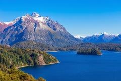 Paesaggio di Bariloche in Argentina Immagini Stock Libere da Diritti