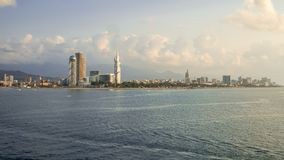 Paesaggio di Batumi fotografie stock