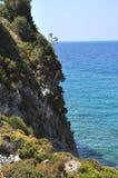Paesaggio di Beautiuful del mar Egeo immagini stock libere da diritti