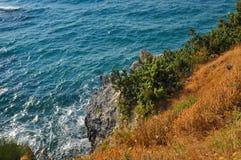 Paesaggio di Beautiuful del mar Egeo fotografie stock