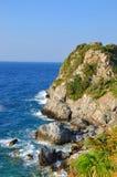 Paesaggio di Beautiuful del mar Egeo fotografia stock