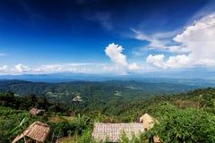 Paesaggio di bella montagna verde per il fondo della natura Immagini Stock Libere da Diritti