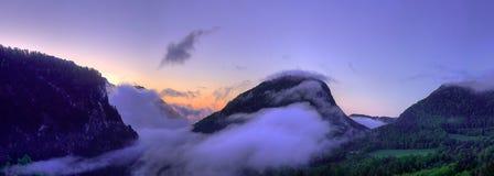Paesaggio di Berchtesgaden Immagini Stock Libere da Diritti