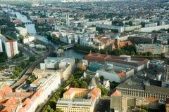 Paesaggio di Berlino Fotografie Stock
