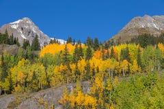 Paesaggio di caduta della montagna di Colorado Fotografia Stock Libera da Diritti