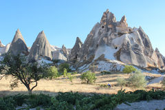 Paesaggio di Cappadocia immagini stock libere da diritti