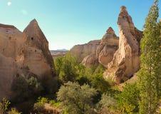 Paesaggio di Cappadocia immagine stock