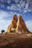 Paesaggio di Cappadocian, Turchia immagine stock libera da diritti
