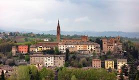 Paesaggio di Castelvetro Modena fotografia stock libera da diritti