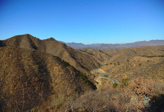 Paesaggio di Cina del nord Fotografia Stock Libera da Diritti
