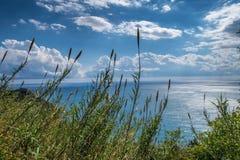 Paesaggio di Cinque Terre Fotografia Stock Libera da Diritti