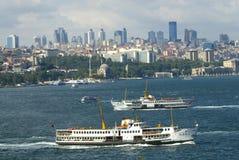 Paesaggio di Costantinopoli Fotografia Stock