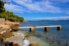 Paesaggio di Cote d'Azur Fotografia Stock Libera da Diritti
