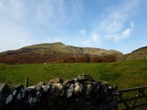 Paesaggio di Cumbrian Fotografie Stock