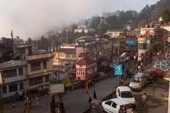 Paesaggio di Darjeeling Fotografia Stock