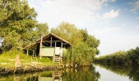 Paesaggio di delta di Danubio Immagini Stock Libere da Diritti