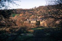 Paesaggio di Derbyshire Bamford Immagini Stock