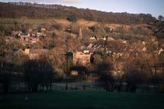 Paesaggio di Derbyshire Bamford Fotografia Stock Libera da Diritti
