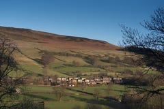 Paesaggio di Derbyshire Bamford Immagine Stock Libera da Diritti
