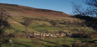 Paesaggio di Derbyshire Bamford Fotografia Stock