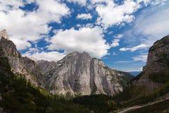 Paesaggio di Dolomiti Fotografia Stock