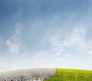 Paesaggio di ecologia illustrazione vettoriale